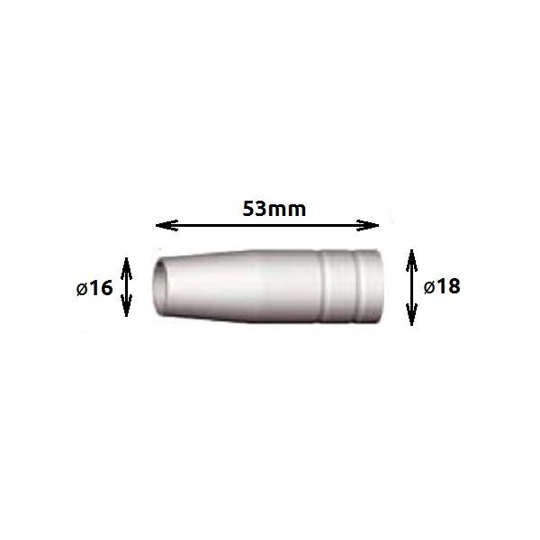 Nozzle AWM 24, conical
