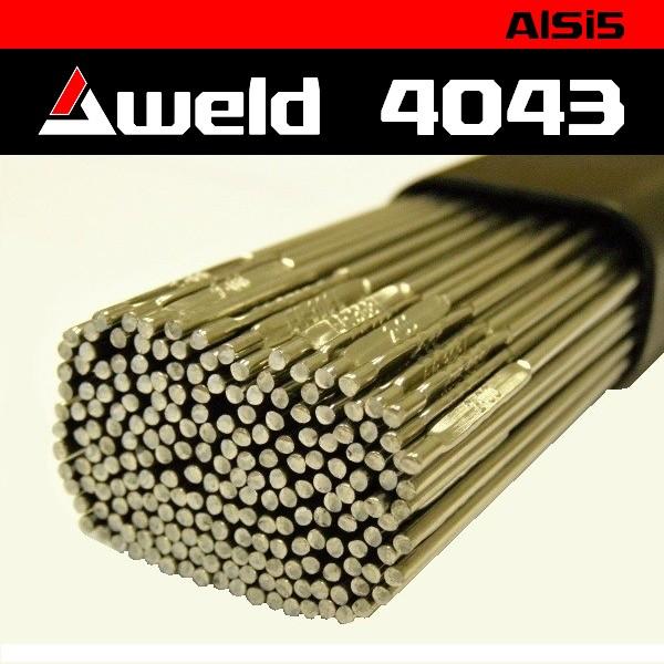 Svařovací drát Aweld 4043 TIG pr. 3,2 mm / 5 kg