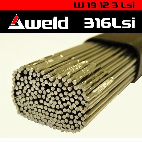 Svařovací drát Aweld 316LSi TIG pr. 3,2 mm / 5 kg