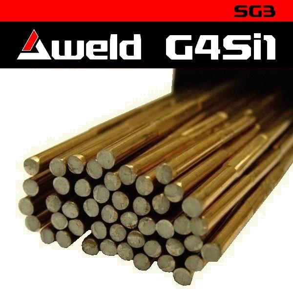 Svařovací drát Aweld G4Si1 TIG pr. 4,0 mm / 5 kg