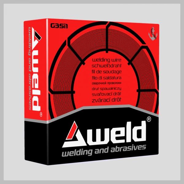 Svařovací drát Aweld G3Si1 pr. 1,0 mm / 15 kg