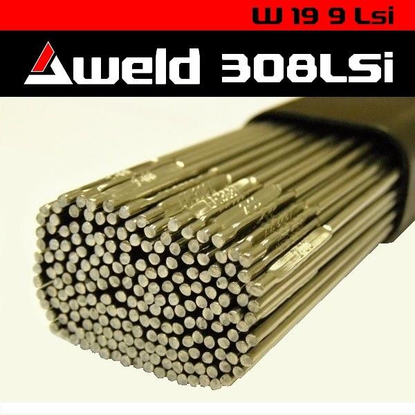 Svařovací drát Aweld 308LSi TIG pr. 3,2 mm / 5 kg