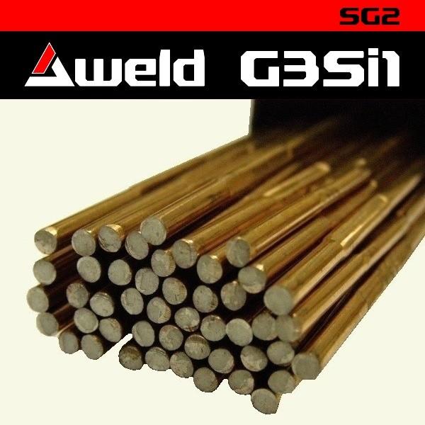 Svařovací drát Aweld G3Si1 TIG pr. 3,2 mm / 5 kg