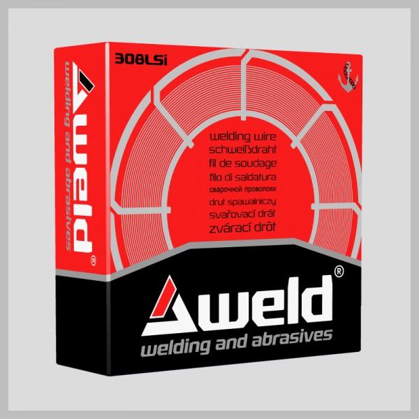 Svařovací drát Aweld 308LSi pr. 1,0 mm / 15 kg